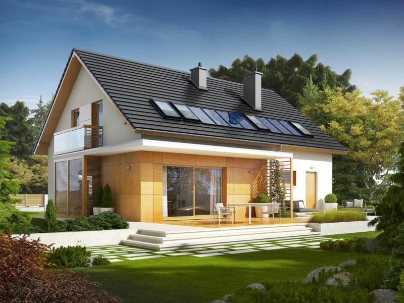 Двускатная крыша дома своими руками: подробная инструкция