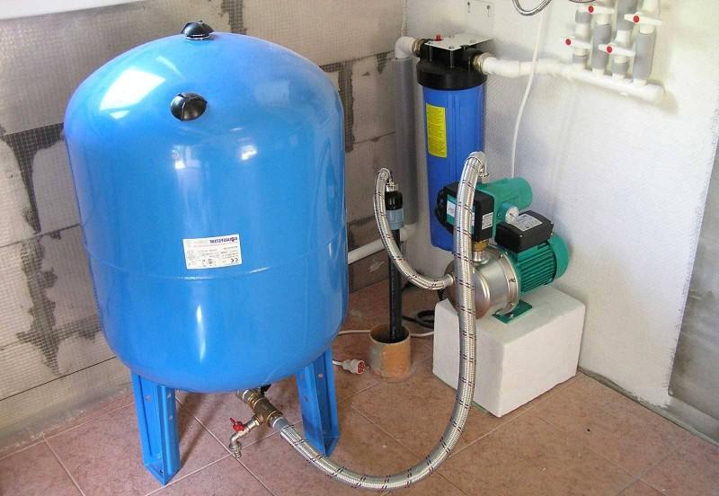 Как выбрать и установить гидроаккумулятор для систем водоснабжения, принцип работы