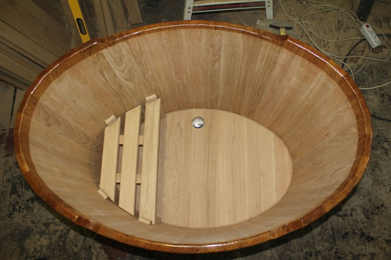 Купель для бани своими руками: деревянная, бетонная и модель-миниатюра, интересные варианты