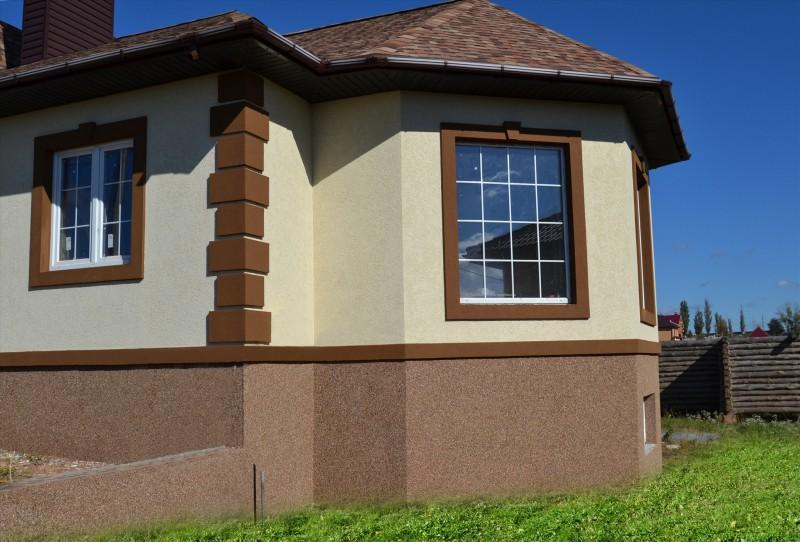 Отделка фасада камнем - 90 фото и пошаговая инструкция по нанесению по выбору отделки