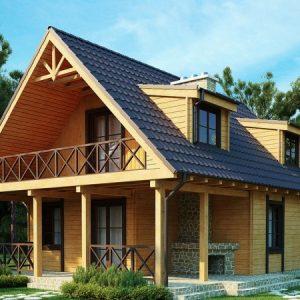 Ломаная крыша — пошаговая инструкции по проектированию, монтажу, изоляции и покрытию ломаных крыш (100 фото)